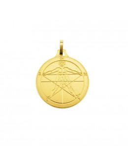 Médaille talismanique Pentacle Agrippa