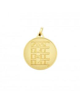 Médaille talismanique Pentacle de la Lune
