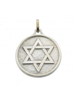 Médaille talismanique Etoile de David, Sceau de Salomon