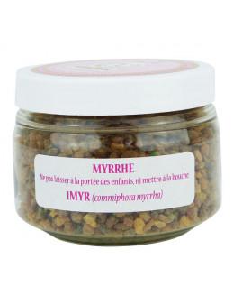 Encens Myrrhe résine fine naturelle